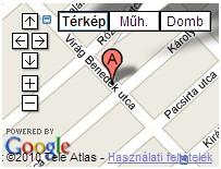 XX. kerületi Háziorvos térkép